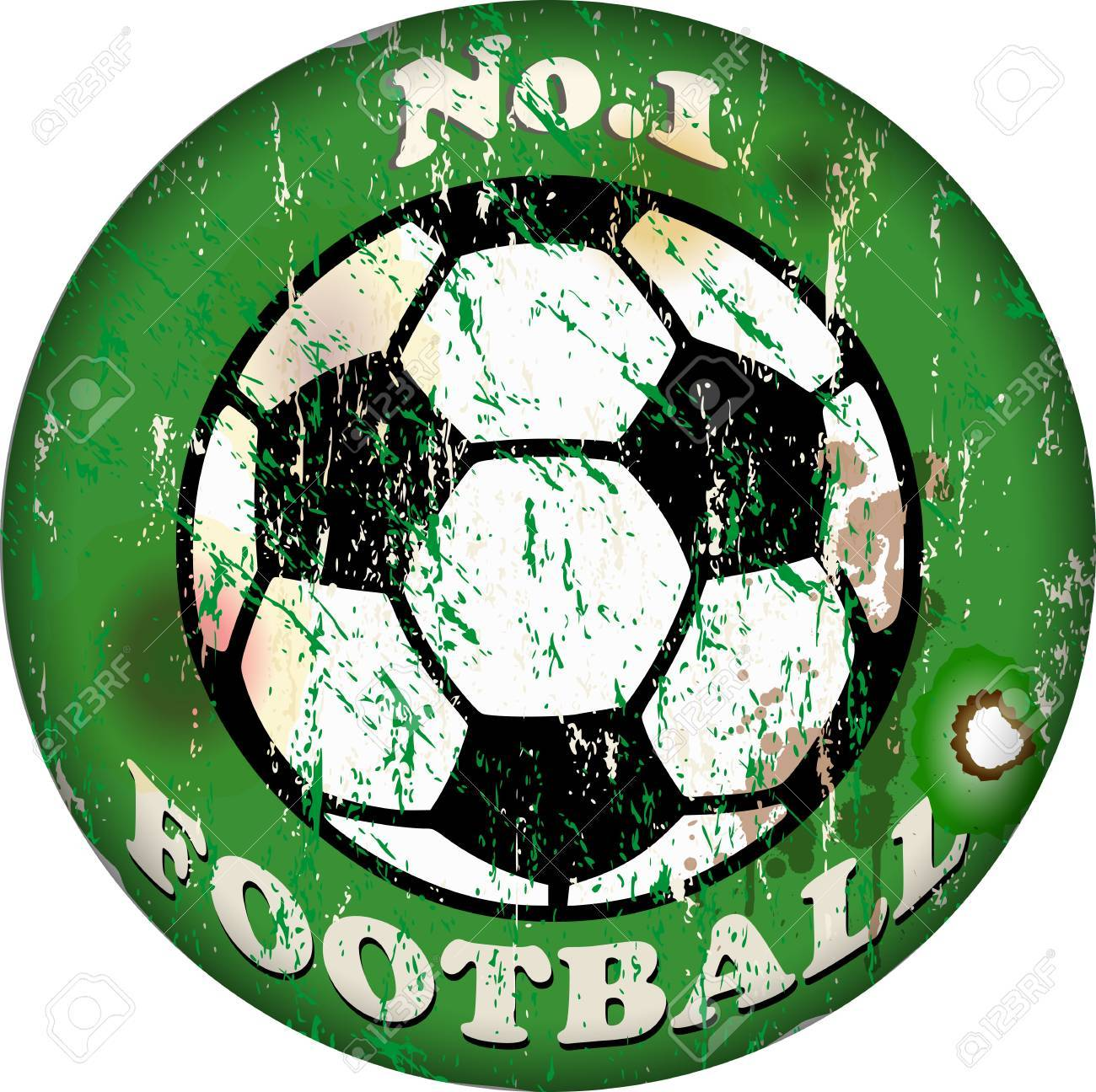 vintage football sign,design element Stock Vector - 15826917