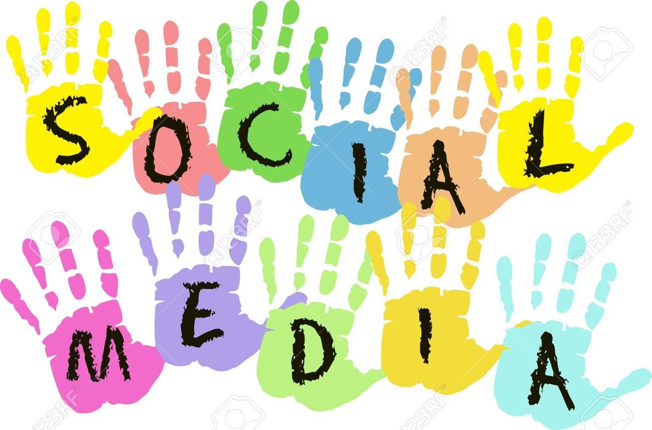 Social media and network design Stock Vector - 16244673