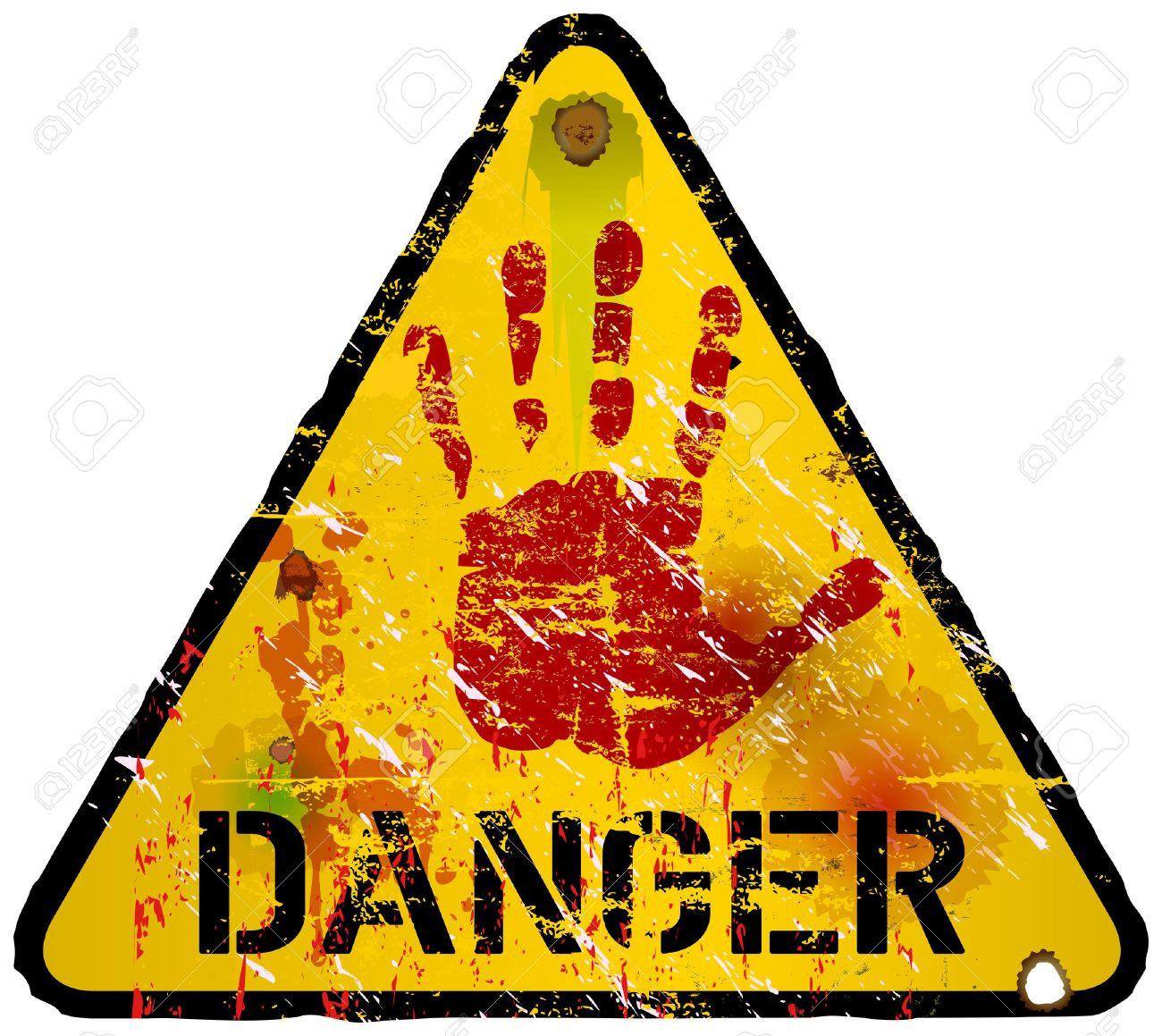 警戒標識、警告/禁止標識のベク...