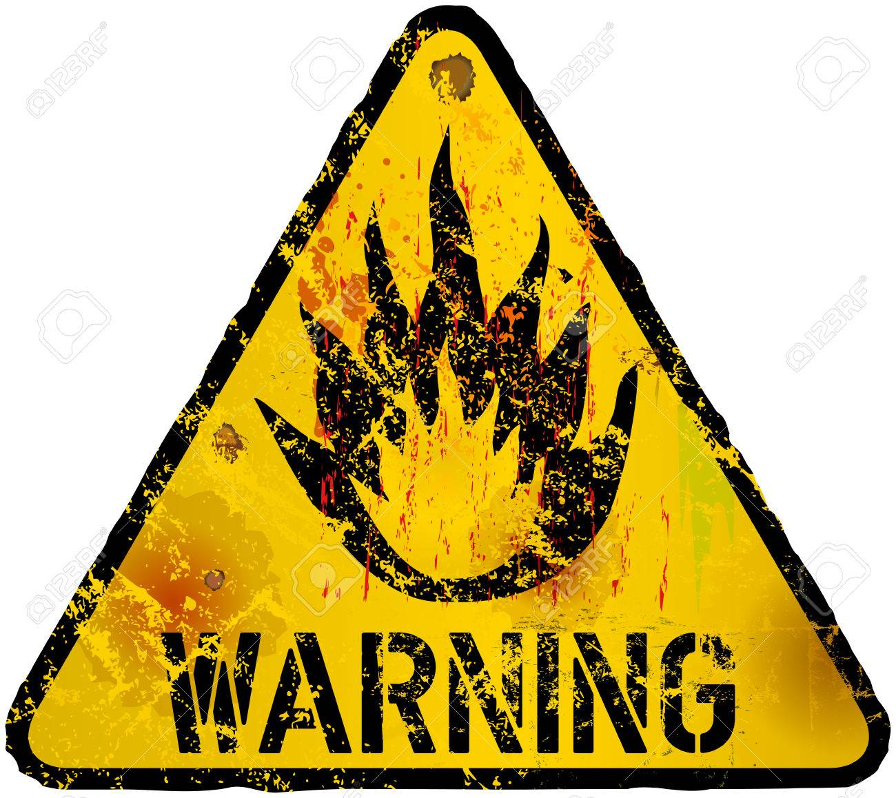 Warning flammable symbol image collections symbol and sign ideas wildfire warning flammable sign fictional artwork grunge style wildfire warning flammable sign fictional artwork grunge style buycottarizona