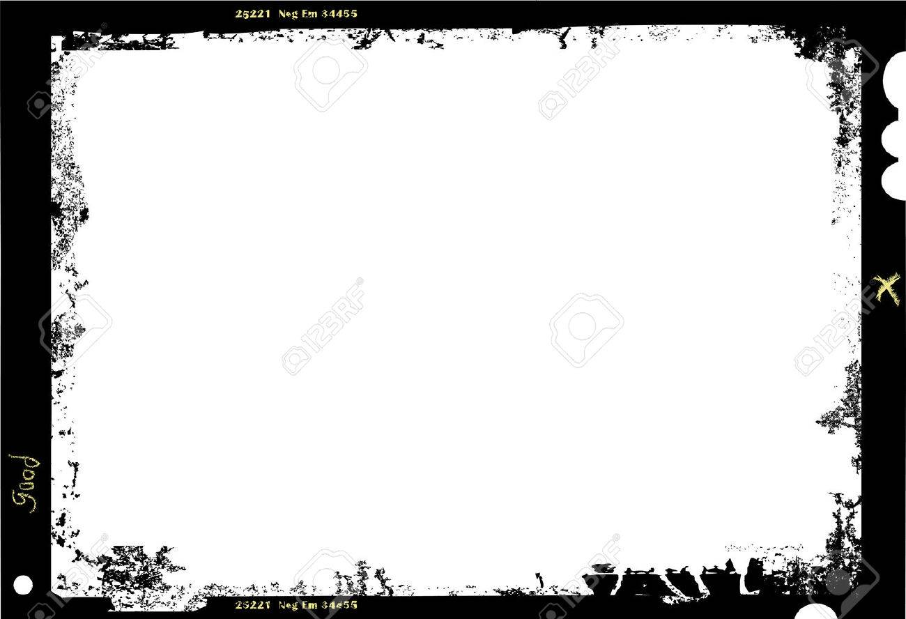large format film sheet photo frame,with free copy space,vector illustration - 49222114