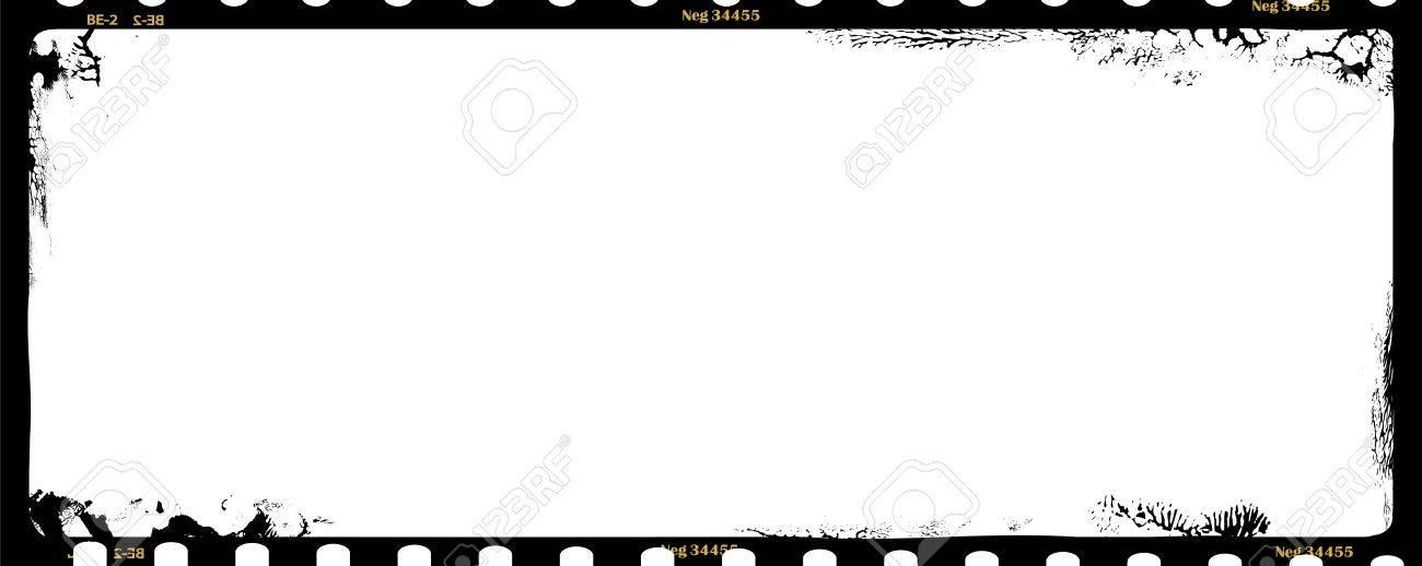 Grungy Medium Format Film Negative,panoramic, Photo Frame, Copy ...
