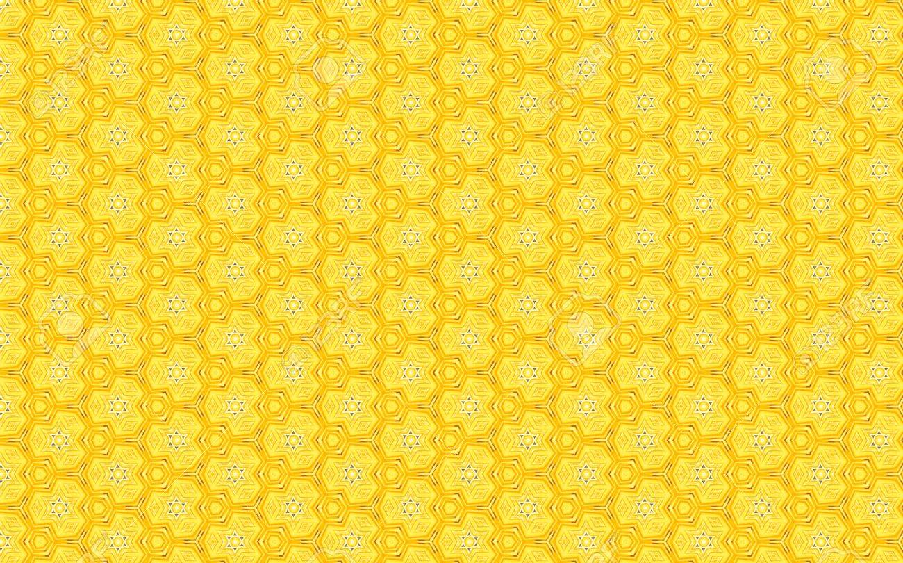 Yellow Vintage Pattern Background Stock Photo Picture And Royalty