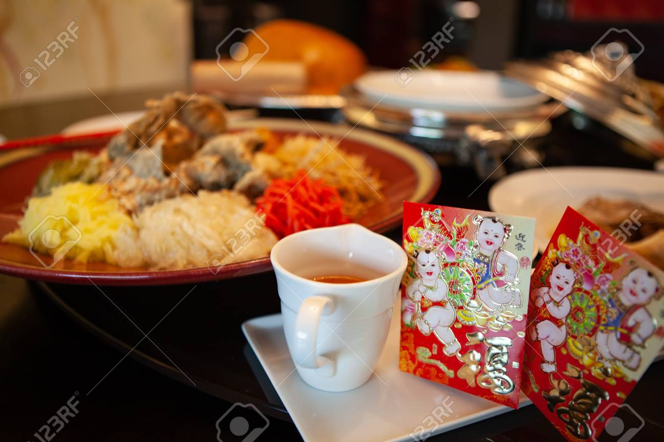 Yusheng Or Prosperity Toss Is A Cantonese-style Raw Fish Salad ...