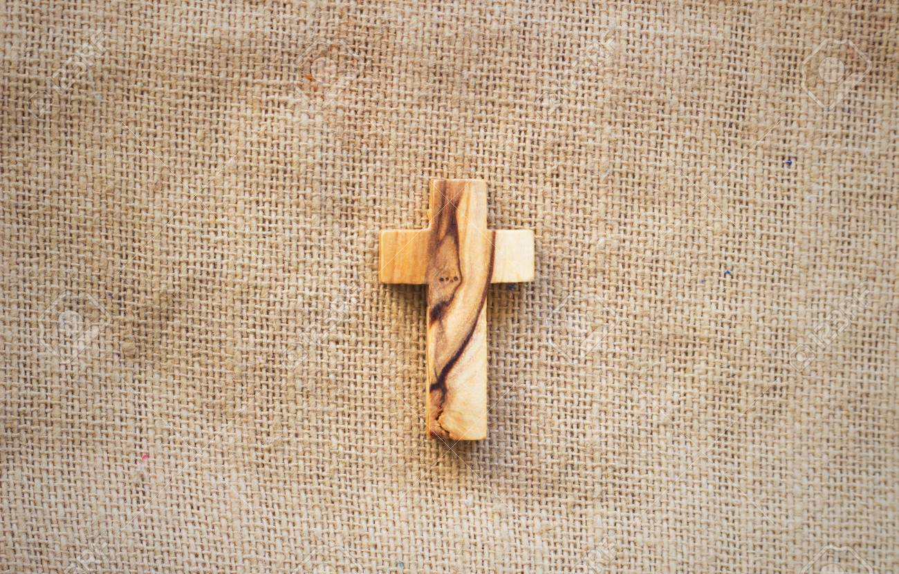 Cross on the Bible - 94802201