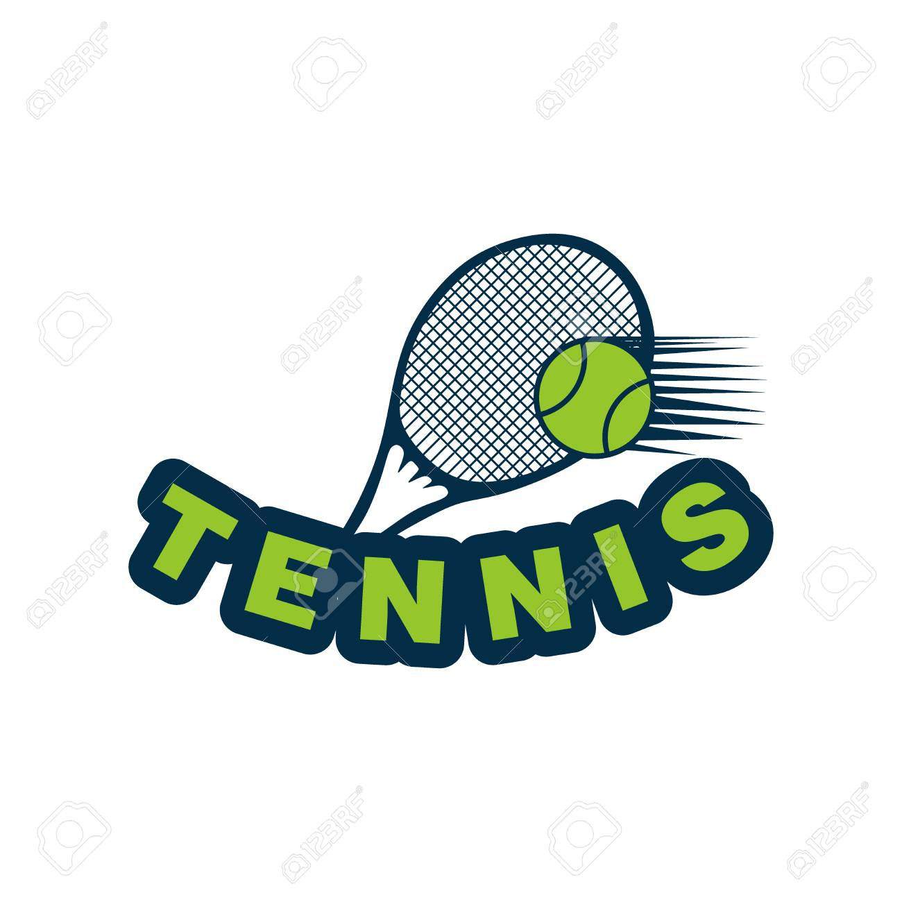 Tennis Logo Designs Royalty Free Cliparts Vectors And Stock Illustration Image 107645697