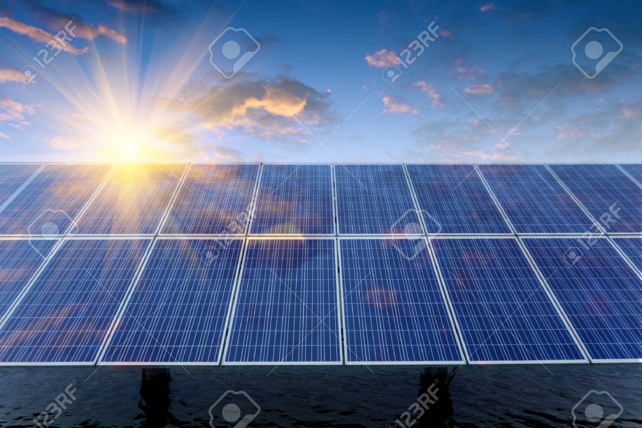 Solar panels - 46228427