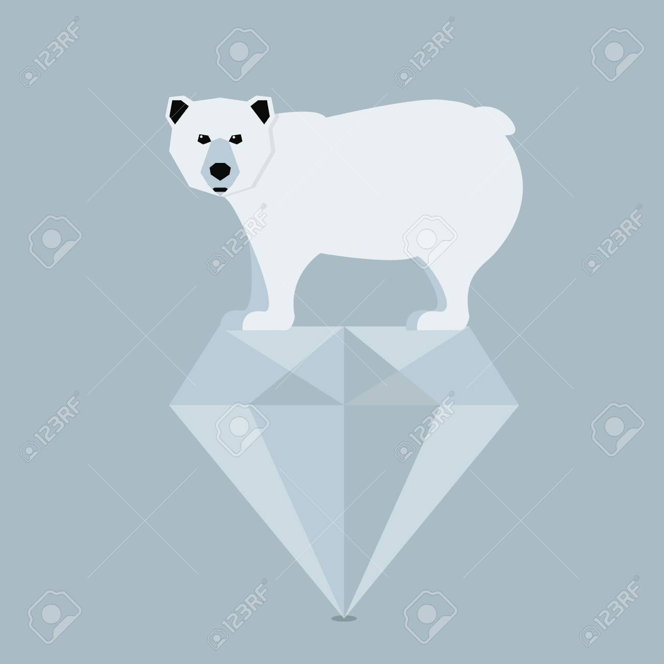 diamond polar canadian lugaro pendant bear jewellery
