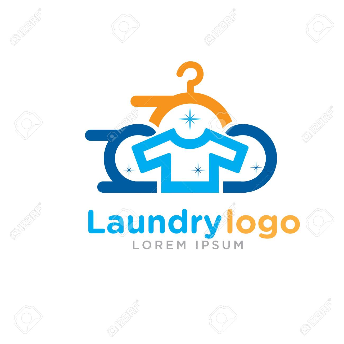 fast laundry logo designs royalty free cliparts vectors and stock illustration image 114361604 fast laundry logo designs
