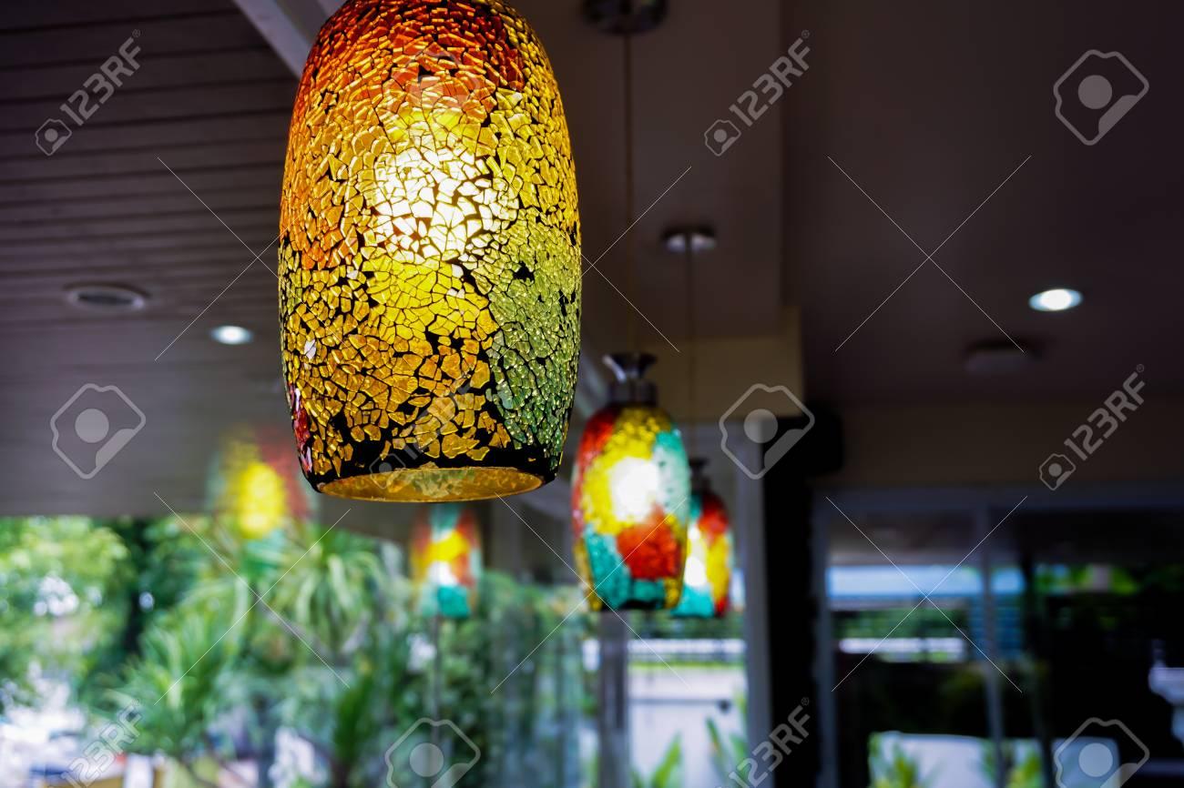 Bunte Lampen