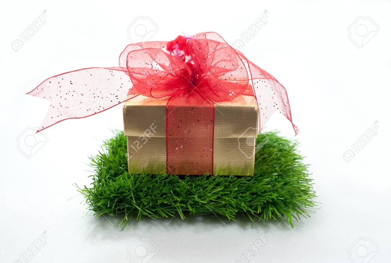 gift Christmas Sampler One Stocking Stock Photo - 23956578