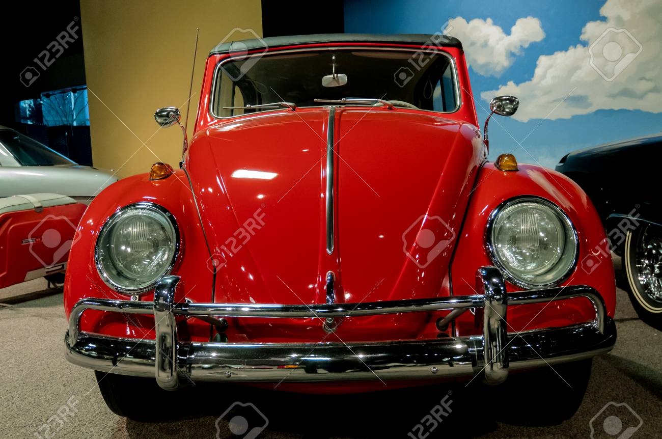 Reno, Nevada - December 30, 2016: Vintage Cars In The National ...