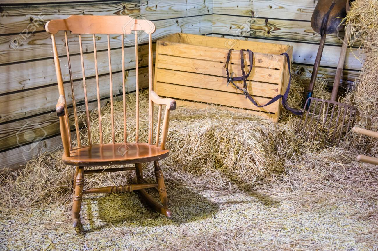 Excellent Rocking Chair And Hay Stack Dailytribune Chair Design For Home Dailytribuneorg