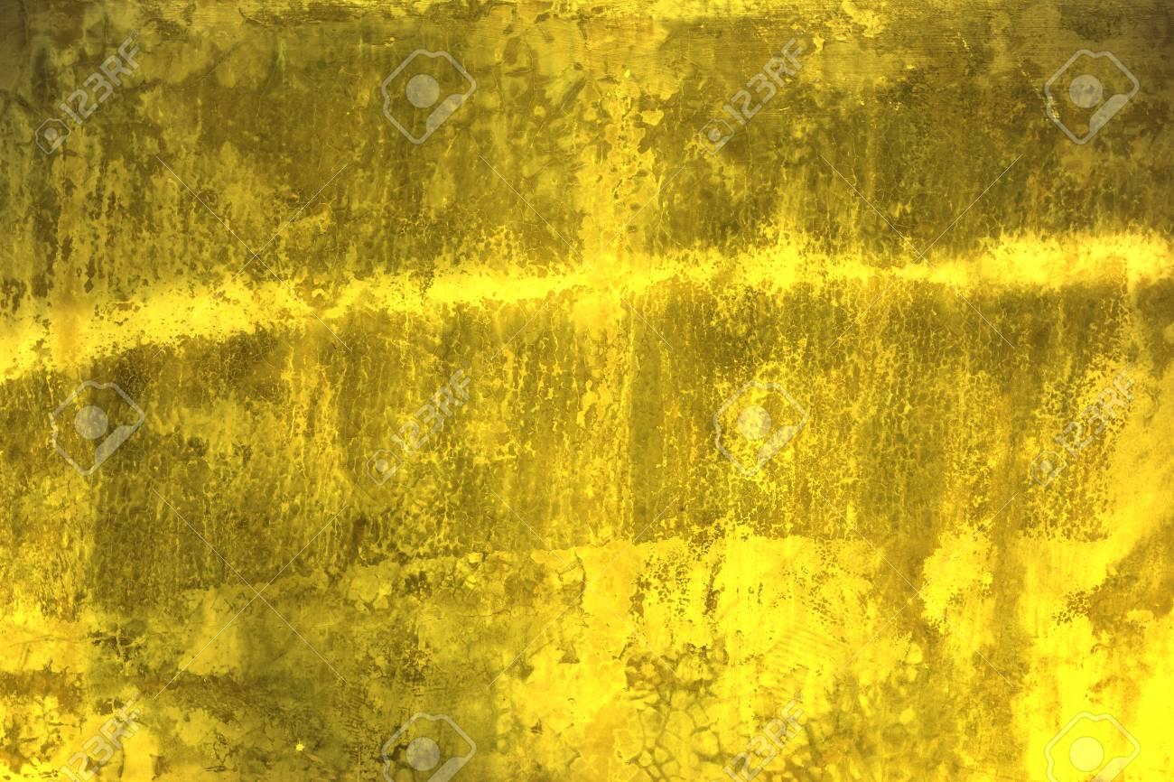 Parete Doro : Struttura lucida della parete doro priorità bassa astratta