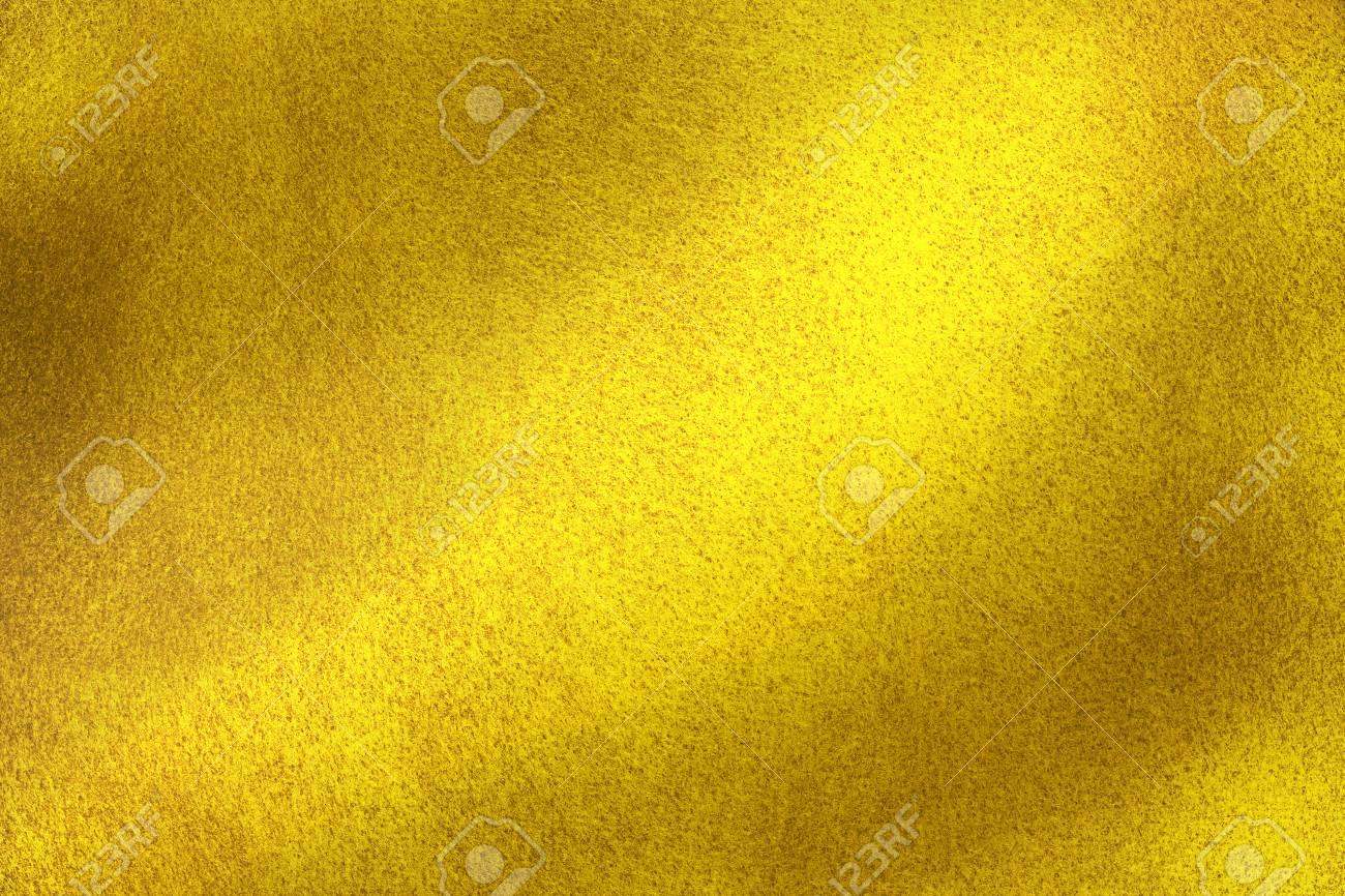 Parete Doro : Struttura lucida della parete d oro priorità bassa astratta