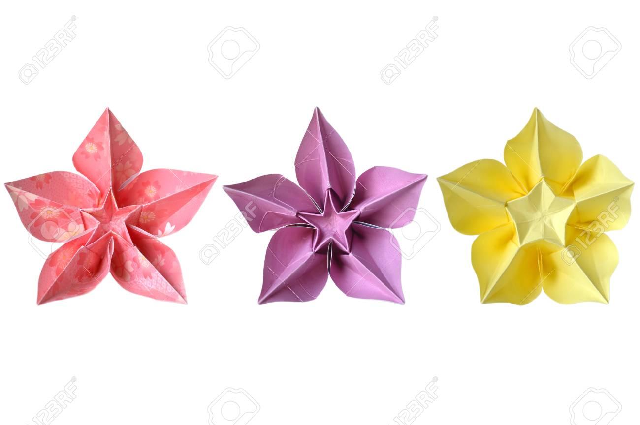 Origami carambola flower on white background stock photo picture origami carambola flower on white background stock photo 58412231 mightylinksfo