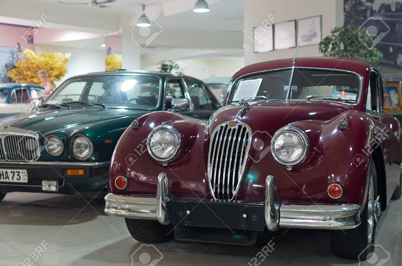 QAWRA - JULY 13 Old Car Inside The Malta Classic Car Collection ...