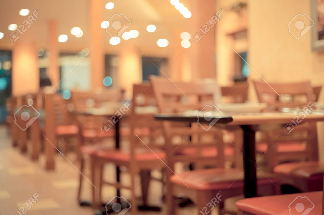 Blurred Image Of Dining Restaurant Retro Color Stock Photo Picture And Royalty Free Image Image 56857586