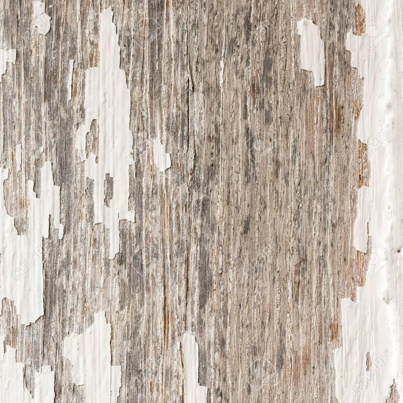 Patine Blanche Sur Bois fond de bois de bois patiné rustique vieilli avec de la peinture blanche  fanée bois montrant la texture.