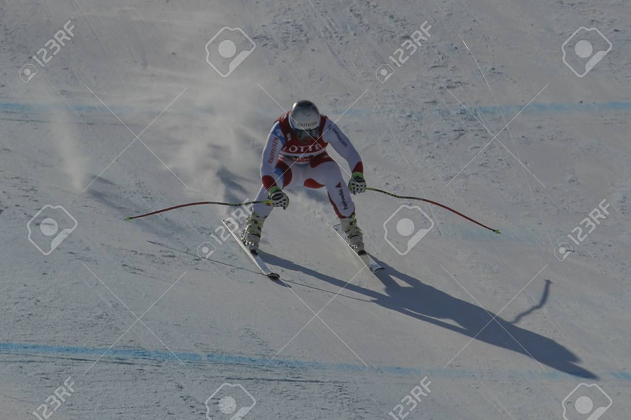 Feuz Beat of SUI action during an AUDI FIS Ski World Cup Men's..