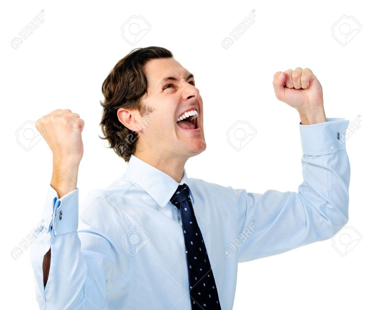 http://previews.123rf.com/images/warrengoldswain/warrengoldswain1201/warrengoldswain120100362/11900613-Excited-businessman-celebrates-by-pumping-fists-Stock-Photo-fist-pump.jpg