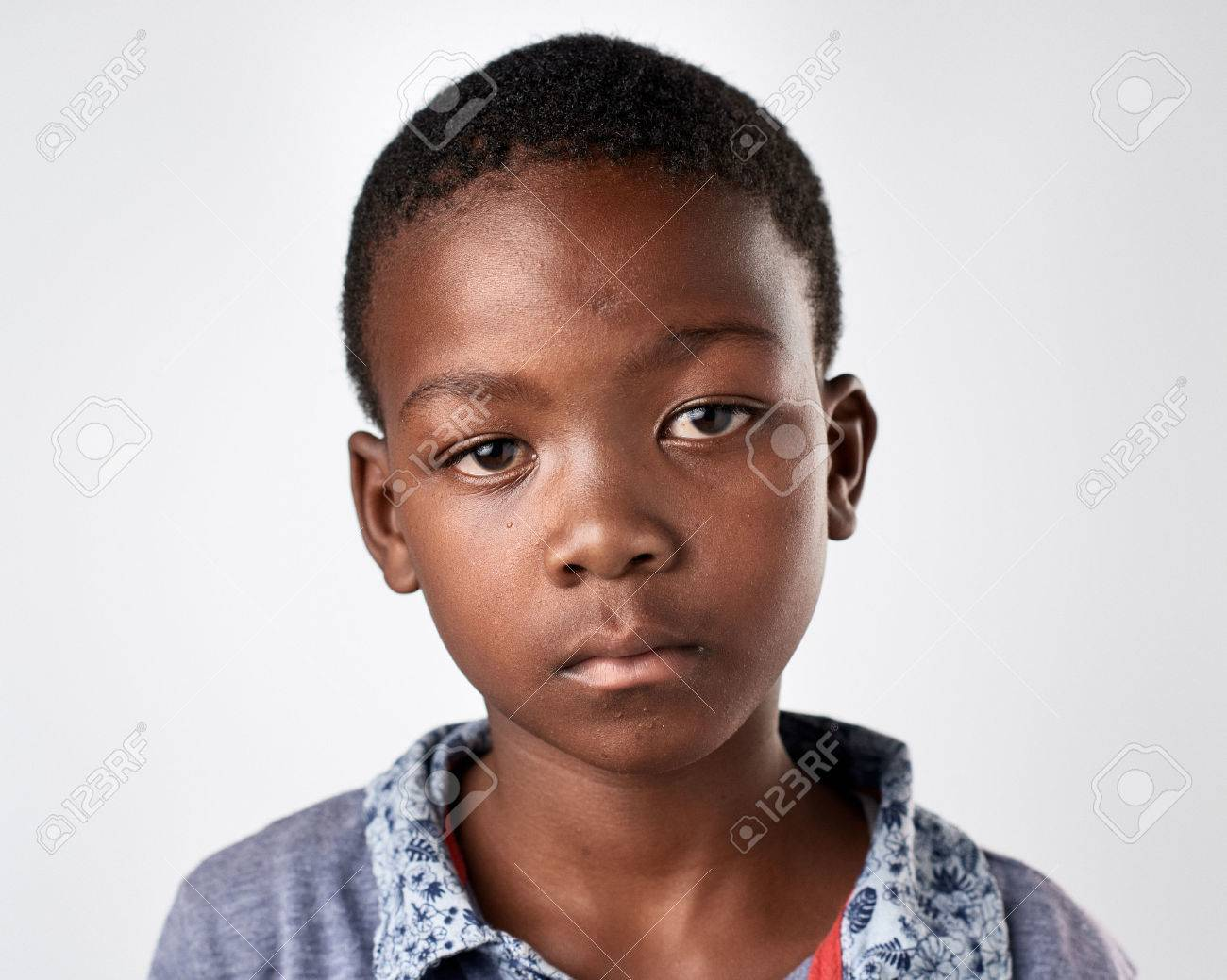 portrait of young african black boy - 65513925