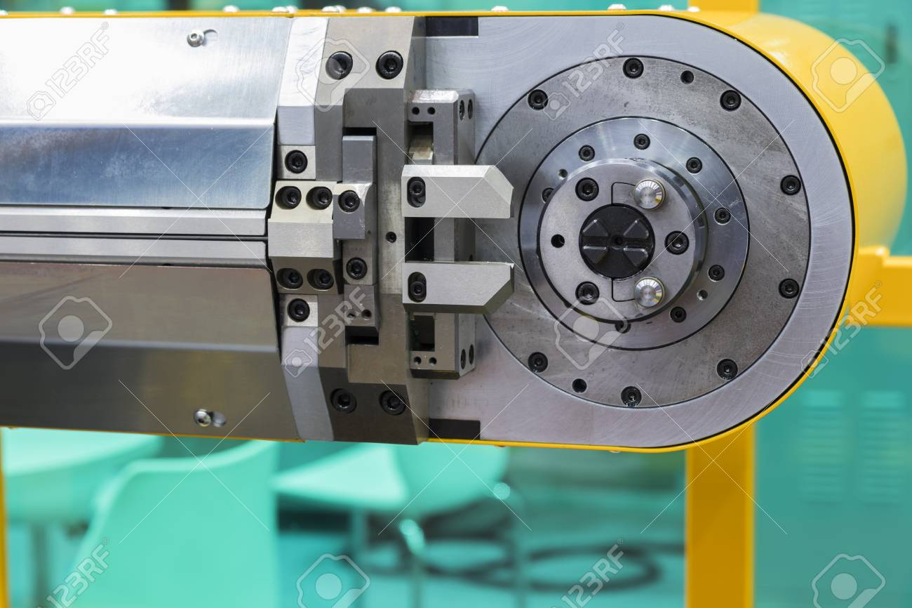 CNC Wire Bending Machine ; Close Up Stock Photo, Picture And Royalty ...