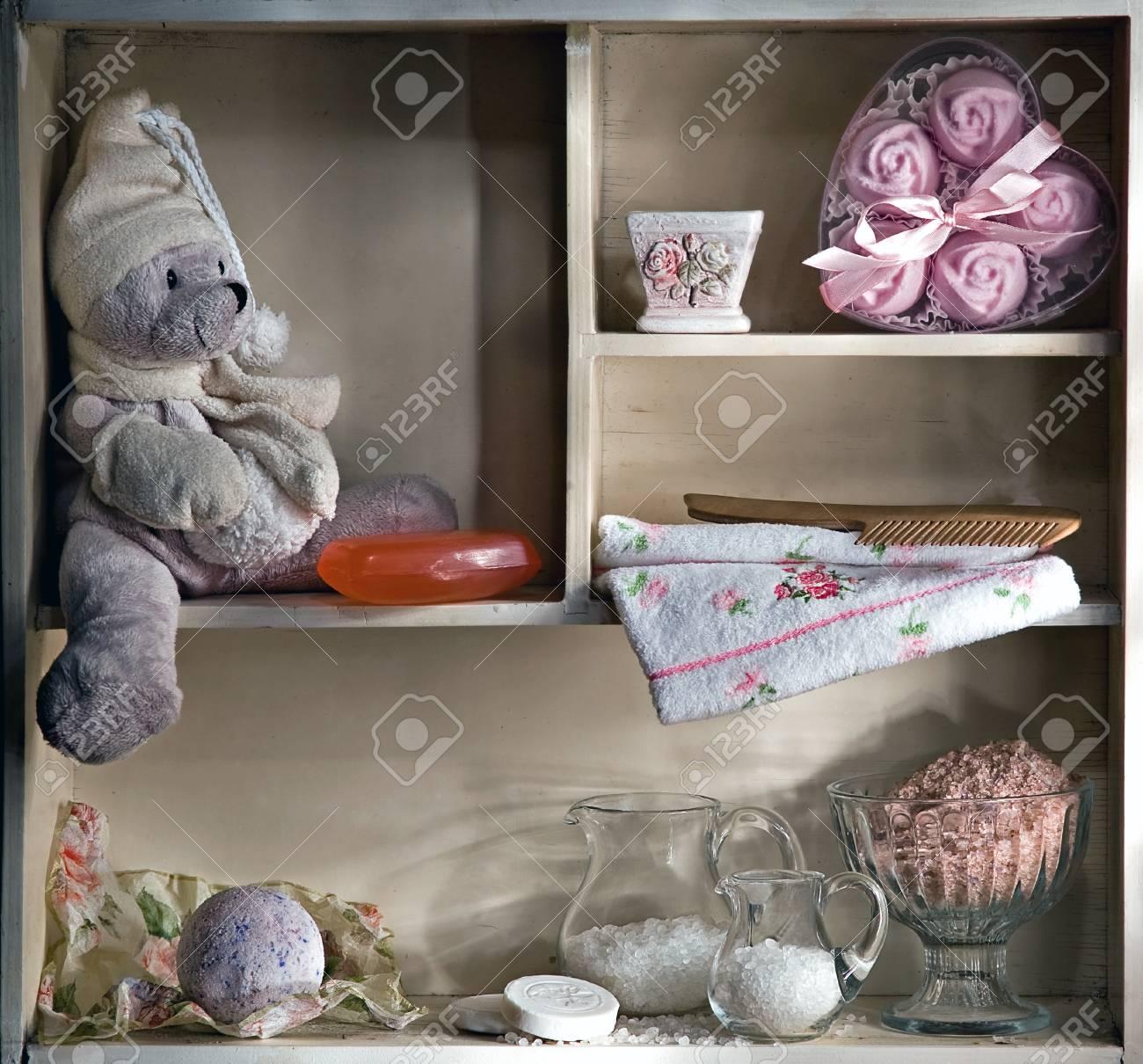 shelf for bathing children Stock Photo - 12923303