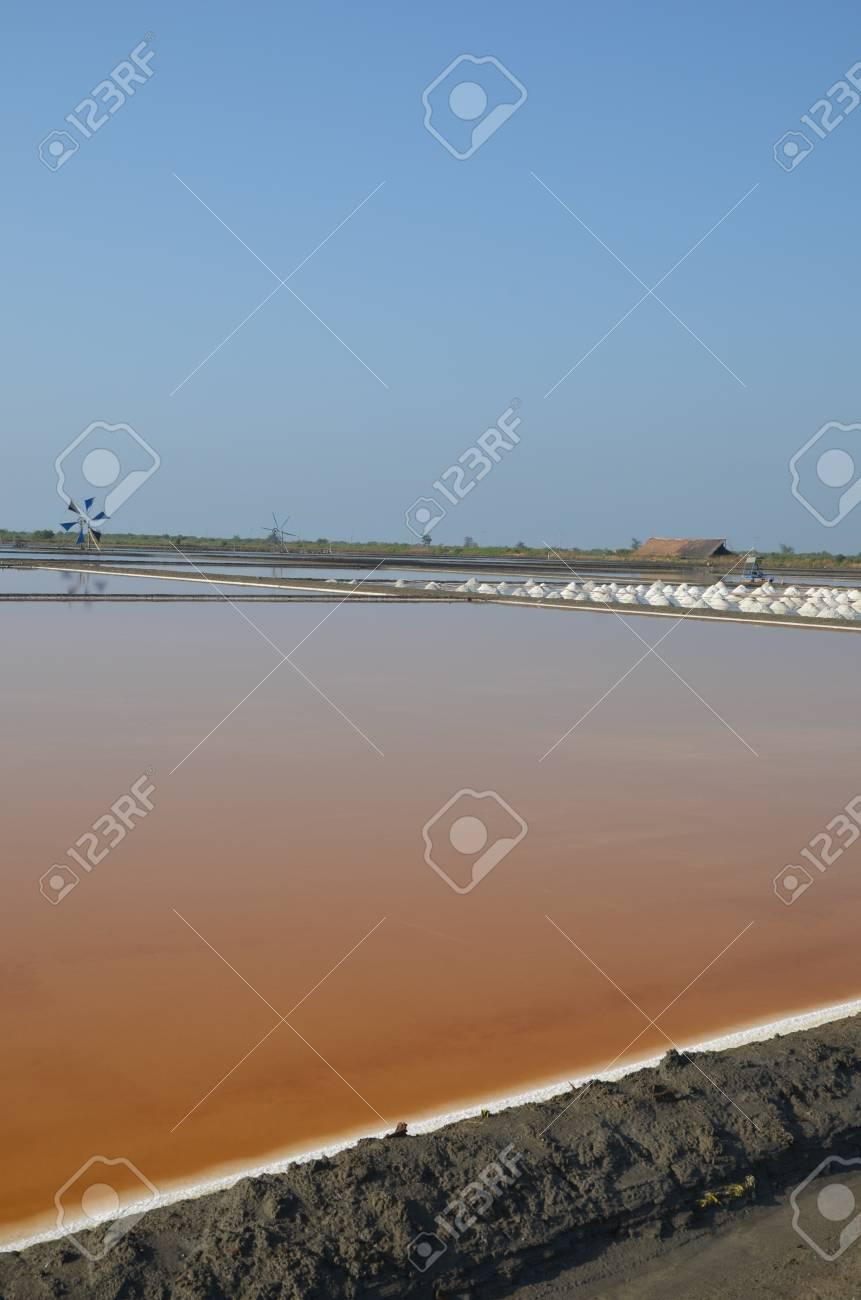 Pattaya Thai wisdom of salt production Stock Photo - 13280070