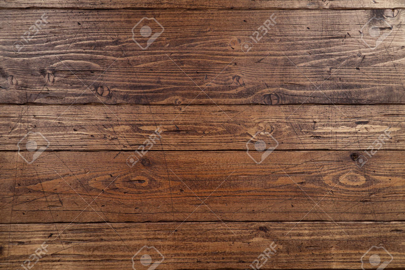 Old wooden texture background. Wooden table or floor. - 121630681