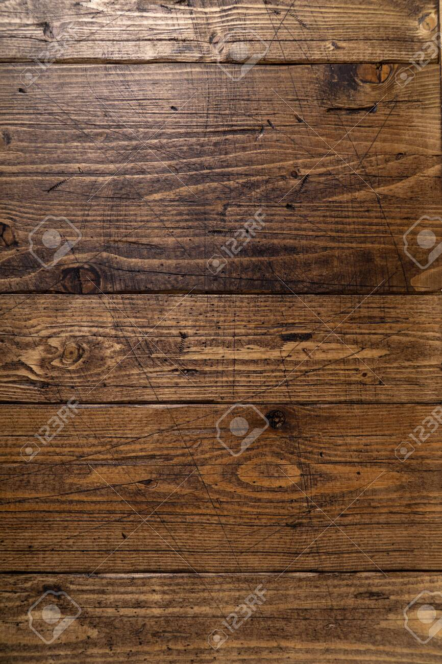 Old wooden texture background. Wooden table or floor. - 121631866