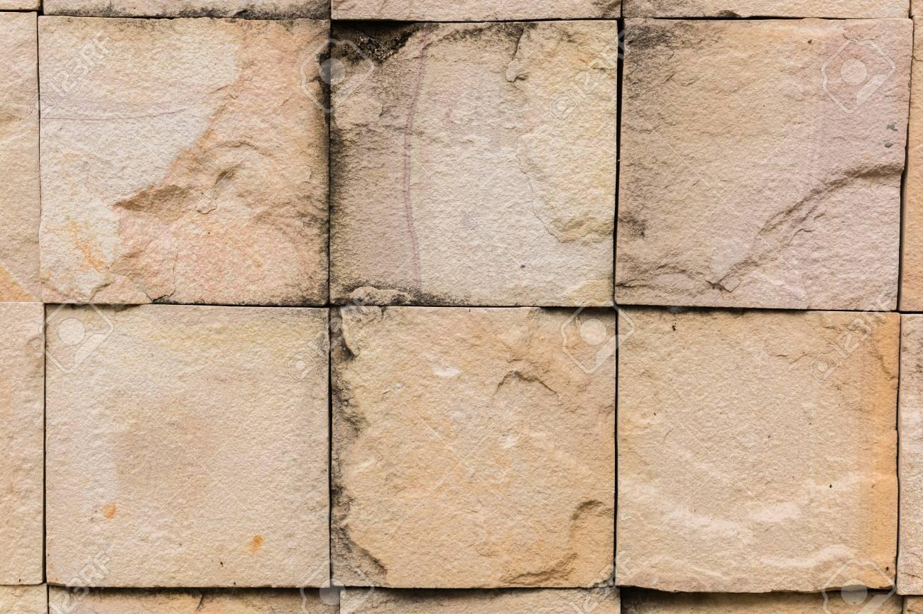 Muro Fatto In Pietra contesto della pietra muro fatto con blocchi