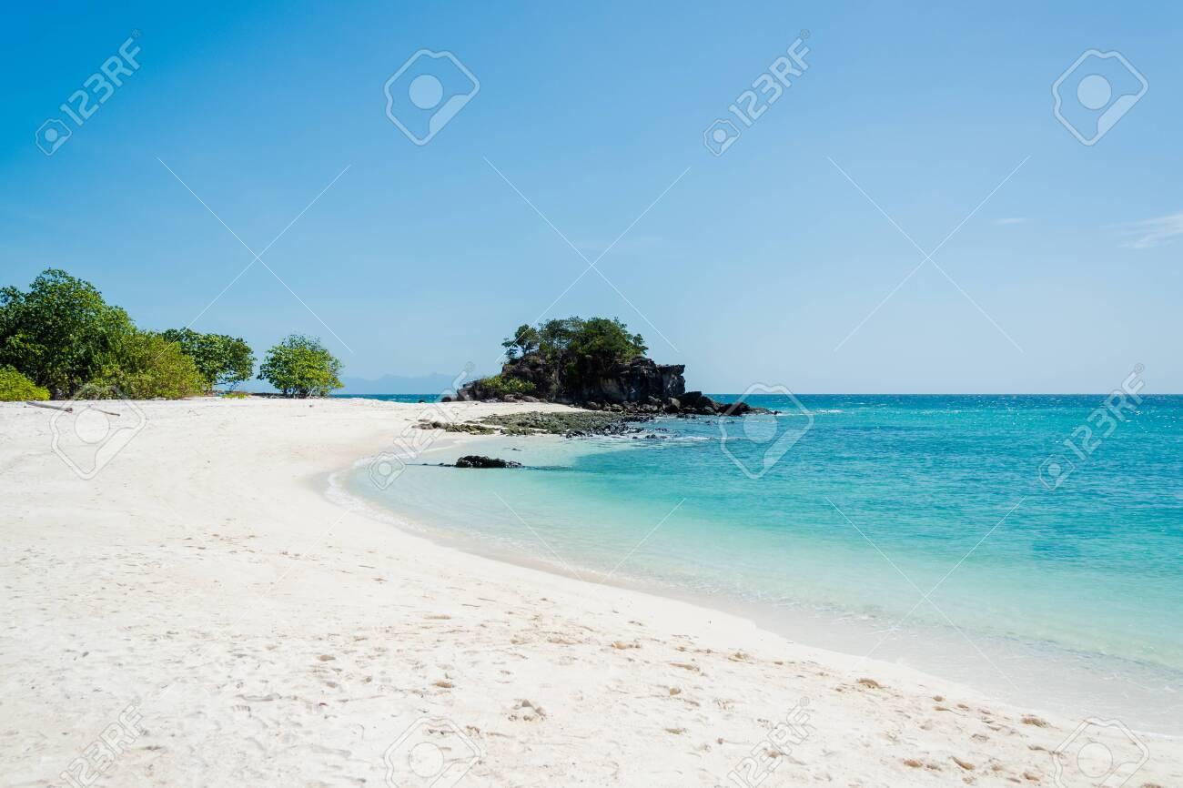 Sea Bright, beautiful at tropical island the Andaman crystal Sea, of Koh Lipe, Thailand - 130771551