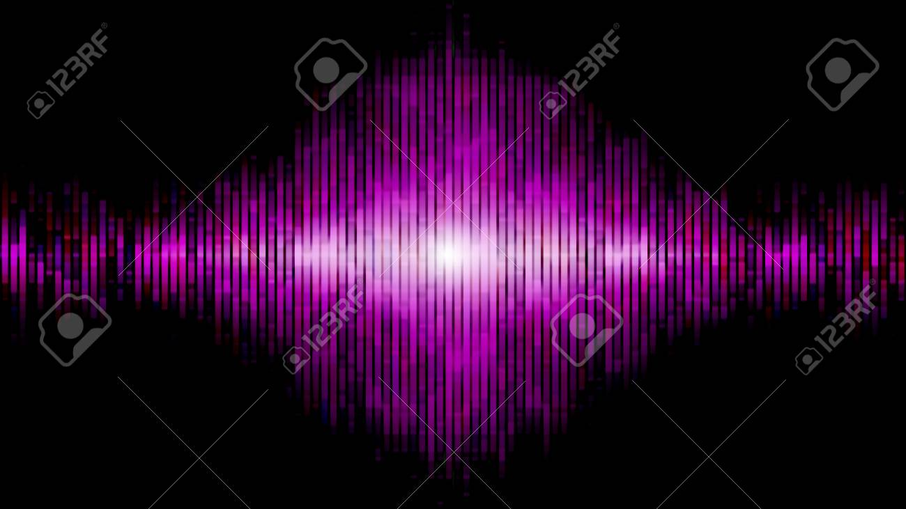 abstract equalizer blue pink Stock Photo - 22296384