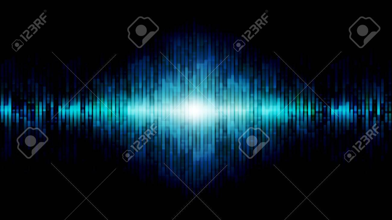 abstract equalizer blue Stock Photo - 22296386