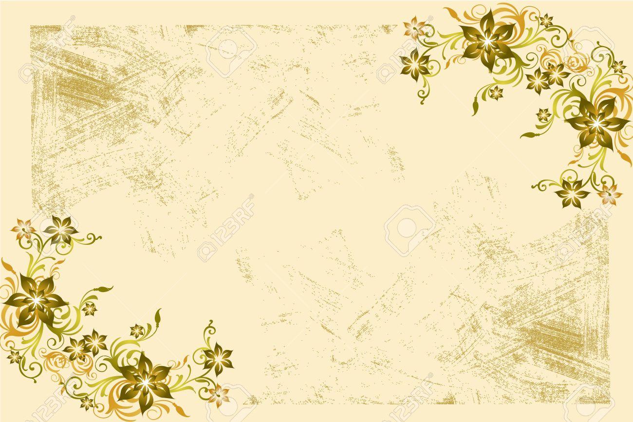 Flower Vintage Wallpaper