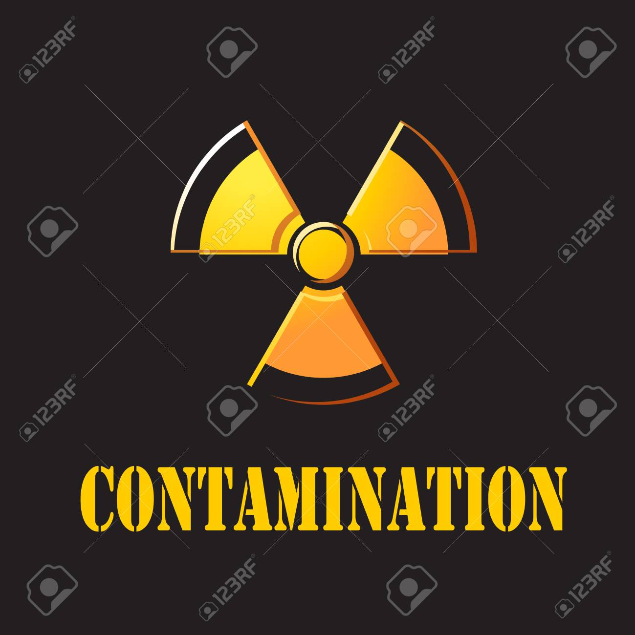 nuclear with contaminate Stock Photo - 24465210