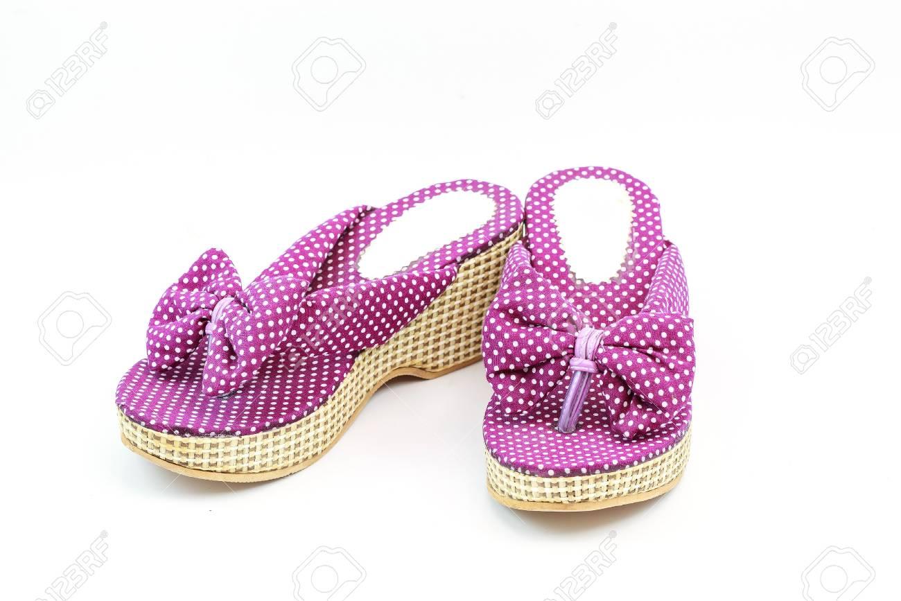 Women shoes isolated on white background Stock Photo - 15401742