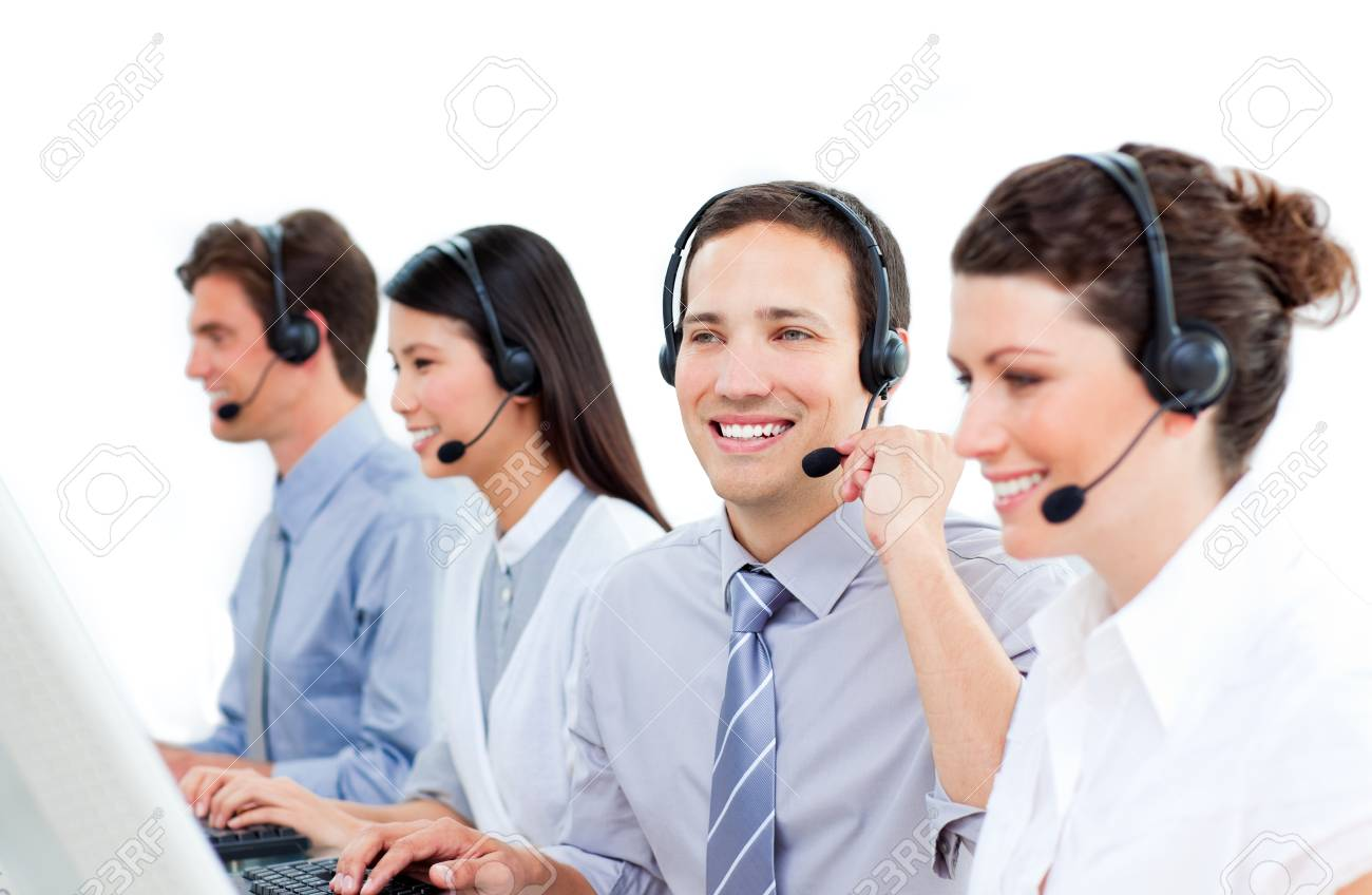 Mature businessman smiling at global business expansion Stock Photo - 10078383