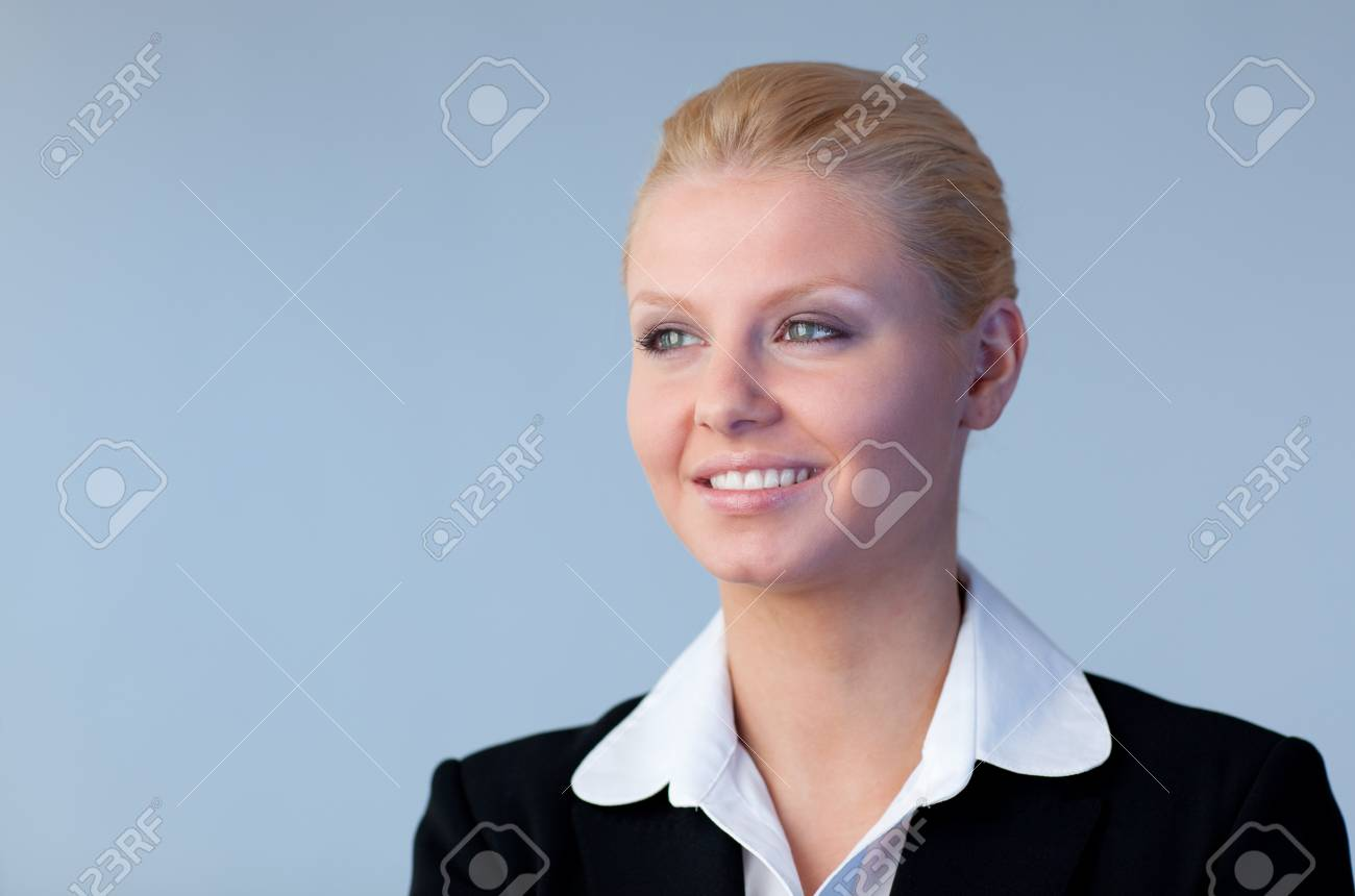 Confident businesswoman Stock Photo - 10255578