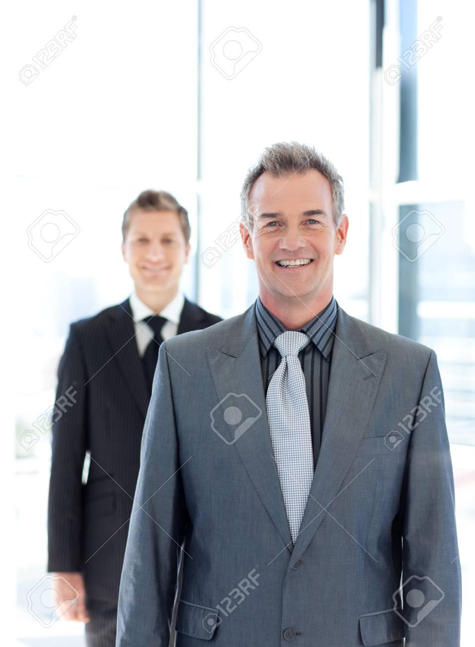 Portrait of a smiling senior businessman Stock Photo - 10250339