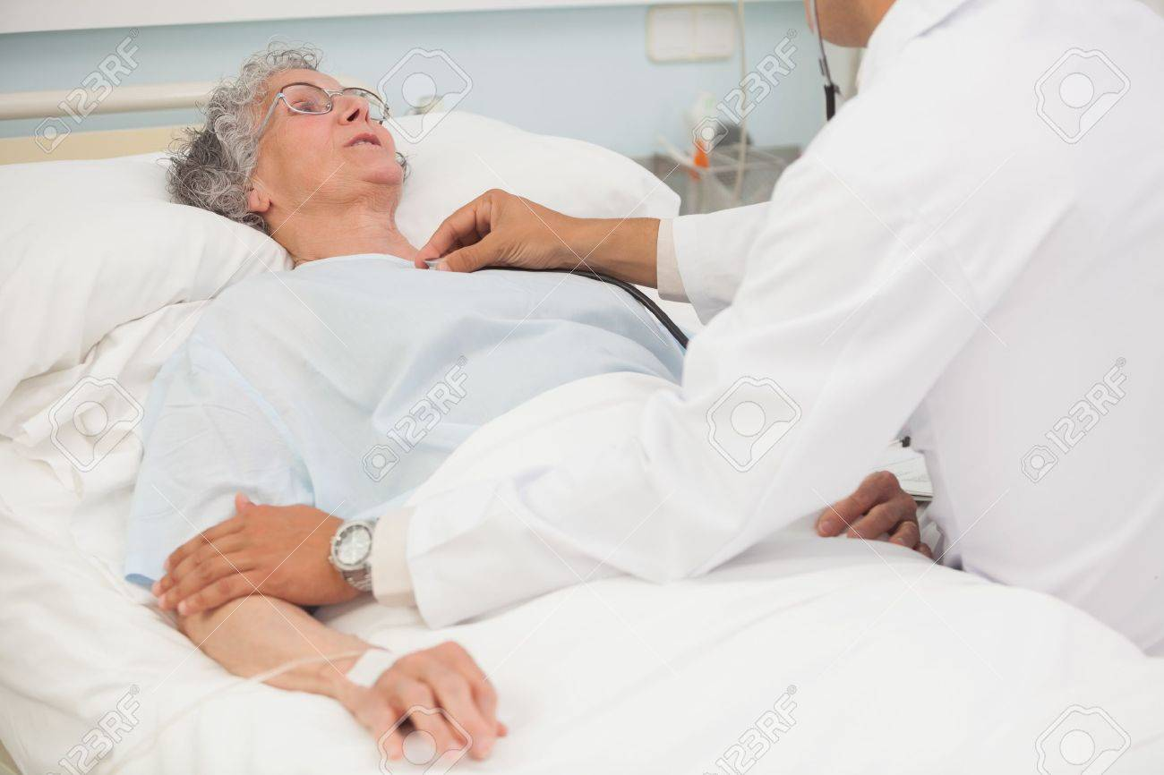 Doctor Listening to Heartbeat Doctor Listening to Heartbeat