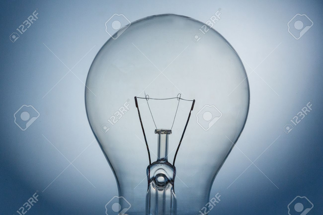 Close Up Of Light Bulb And Filament Bulb Stock Photo   20457358