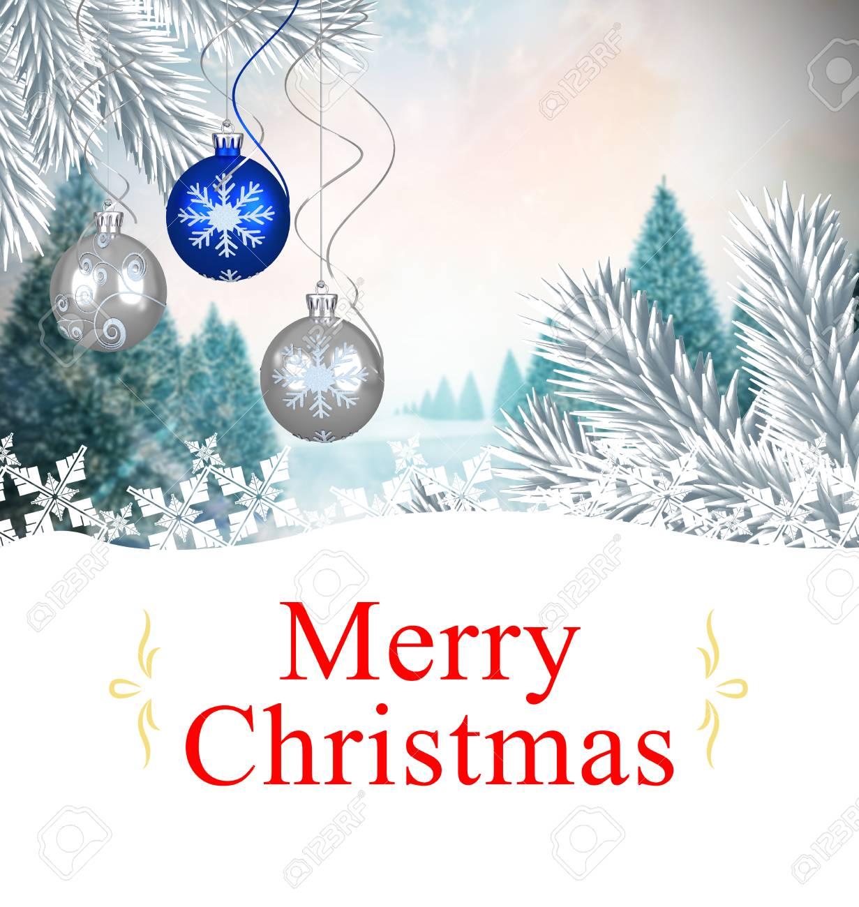 Digitale Weihnachtskarten.Stock Photo
