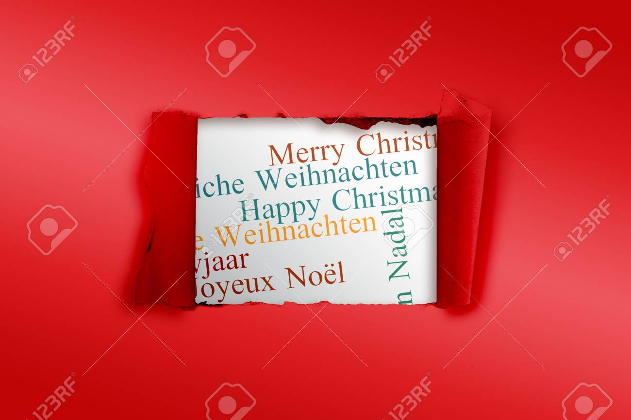Rip in paper against holiday greetings in different languages stock rip in paper against holiday greetings in different languages stock photo 42970467 m4hsunfo