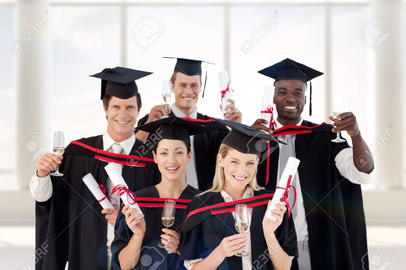 group of people graduating from college against room large group of people graduating from college against room large window stock photo 44394527