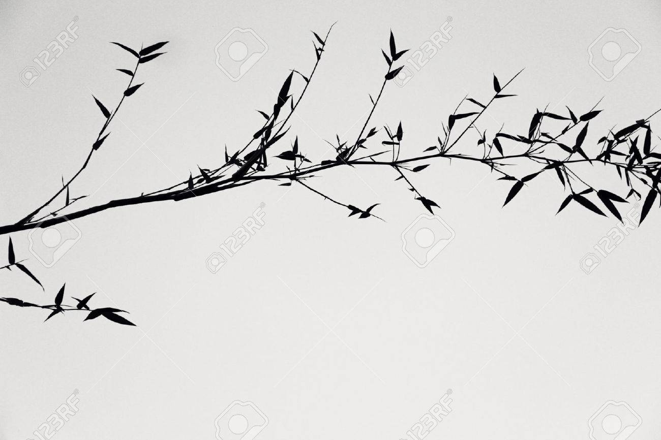 Japanese Painting Black And White