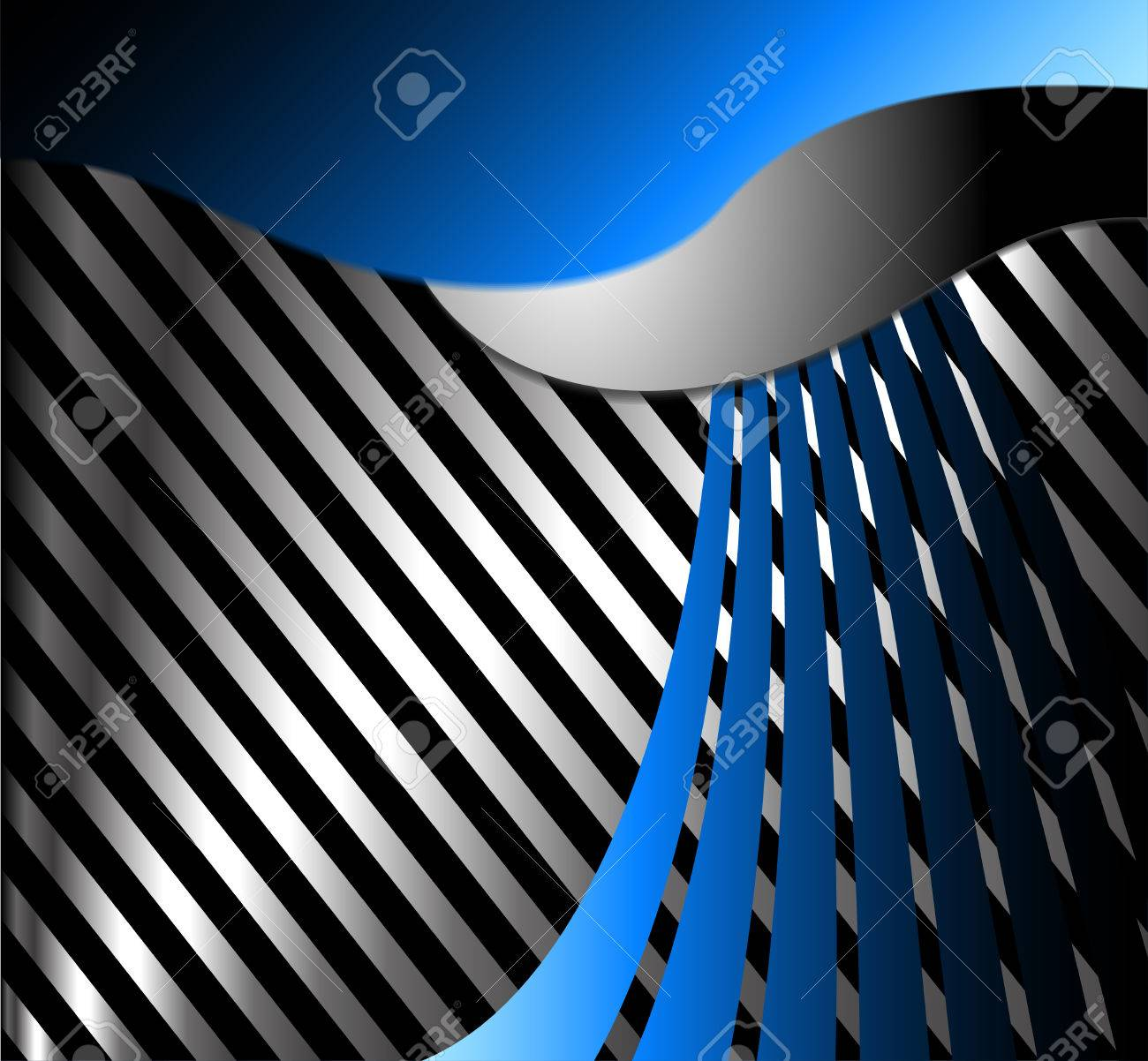 Vector Abstract Background Overlap Dimension Line Modern Bar