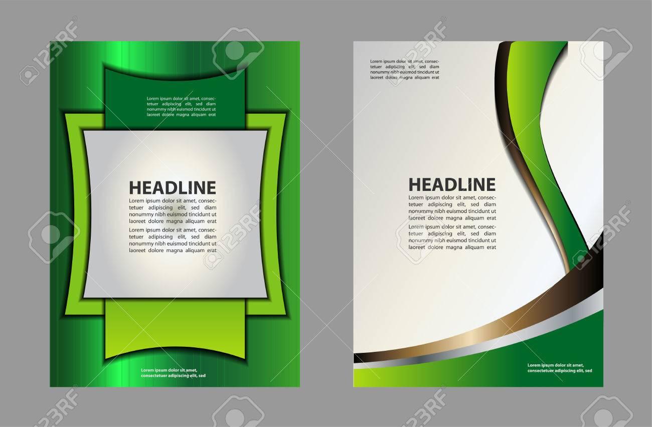 tri fold brochure empty vector template design print bright