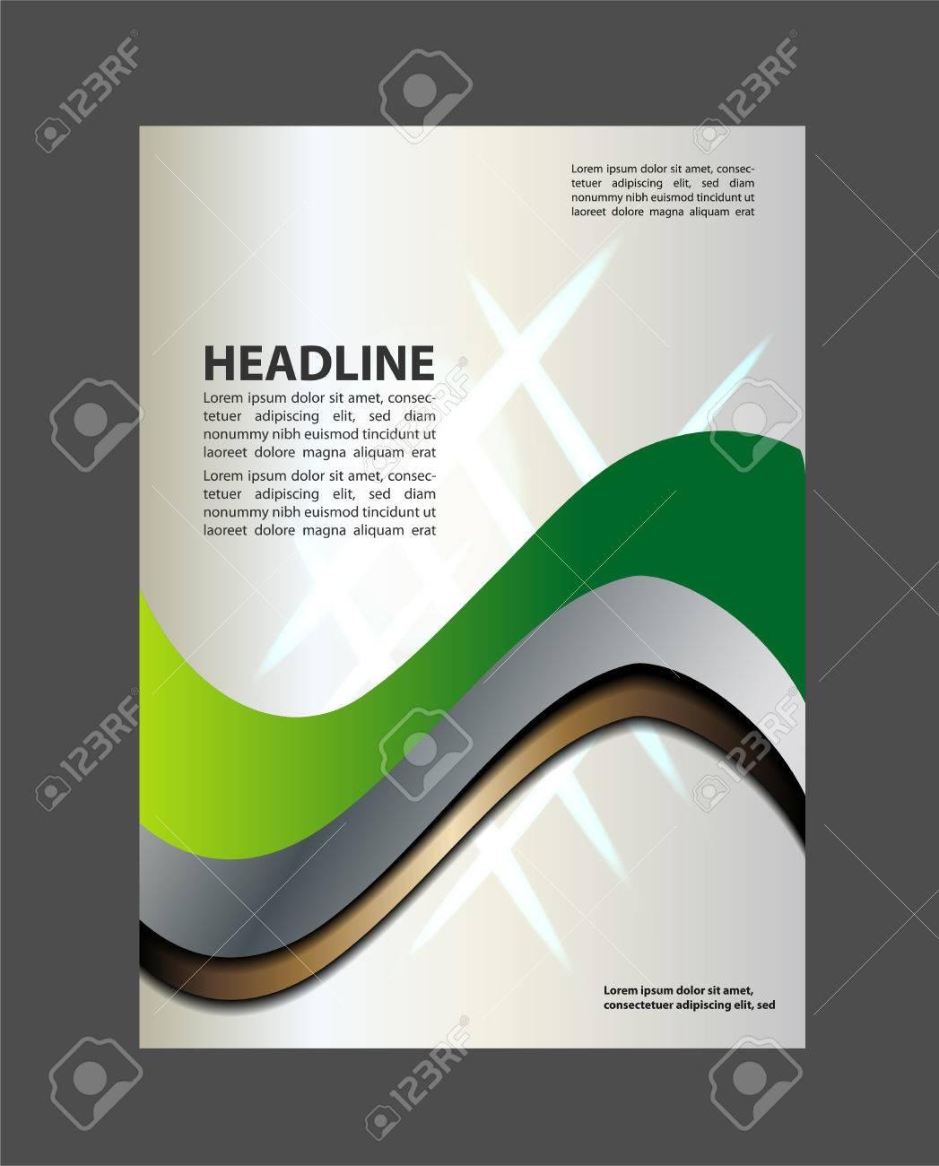 tri fold brochure design beauty salon and catalog vector template stock vector 53955043